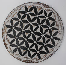 Charger l'image dans la galerie, Flower of Life Wood Grid