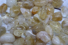 Load image into Gallery viewer, Citrine Tumbled Stones