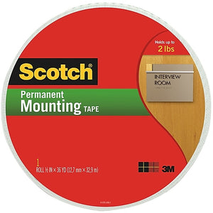 "Scotch™ 3M Cinta Doble Cara 3/4""x38YD. (110-MR)"