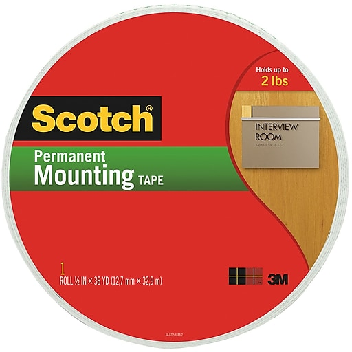 Scotch™ 3M Cinta Doble Cara 3/4