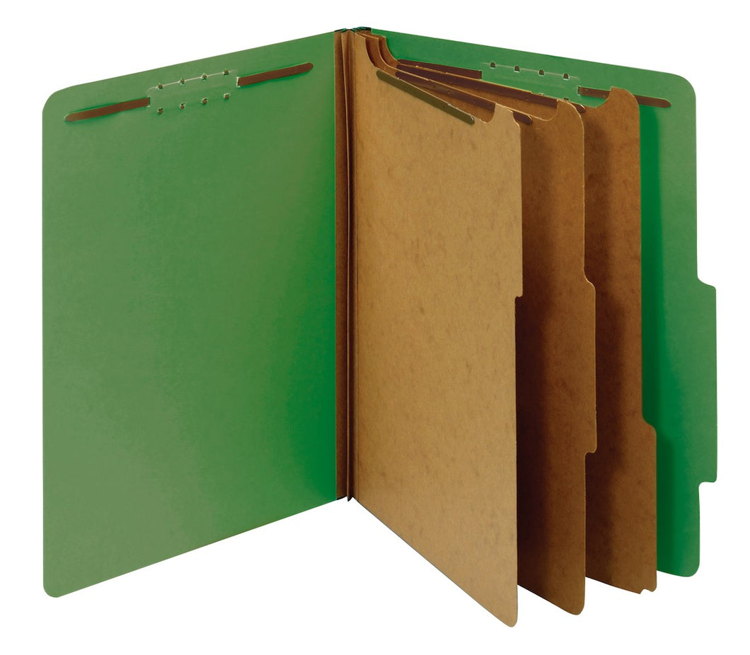Folders de Clasificacion Partition, 8 Divisiones, Carta 8.5x11