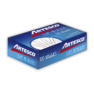 Artesco® Clip de Papel No. 1, 33mm (2002470/16305000)