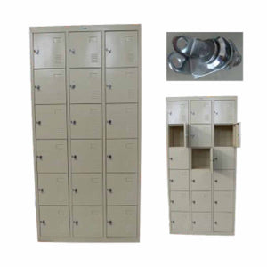 Atlantic® Locker de Metal, 18 puertas, 15.5x35x73 (CA1850900)