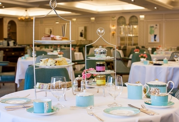 The Diamond Jubilee Tea Salon at Fortnum and Mason