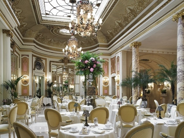The Palm Court - Ritz Hotel, London