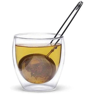 Mesh Ball Tong Tea Infuser with Pincer with infusion