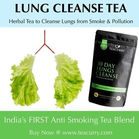 Teacurry Lung Cleanse Tea