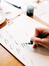 Load image into Gallery viewer, Online Modern Calligraphy Workshop (without a kit)