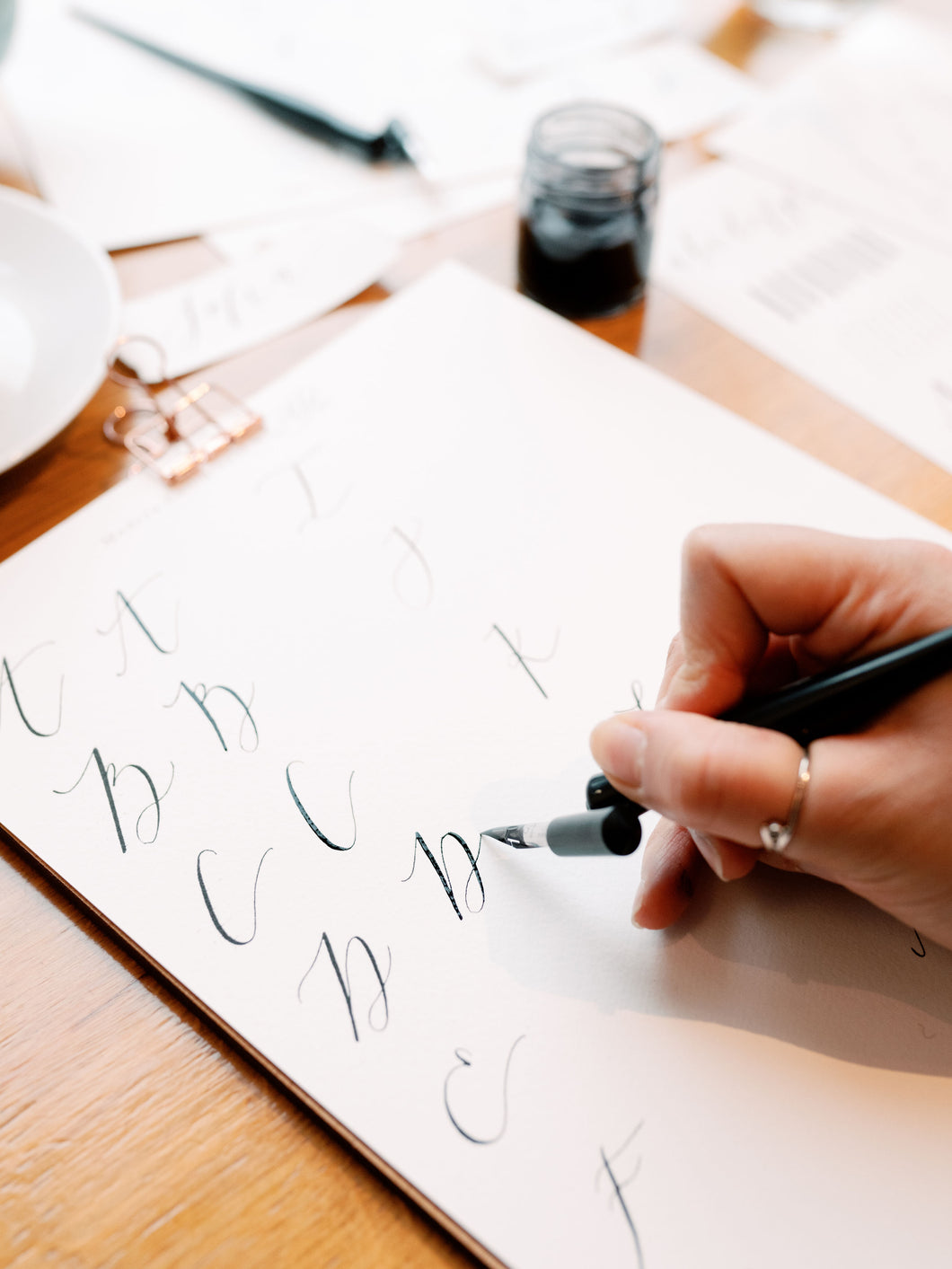 Online Modern Calligraphy Workshop (without a kit)