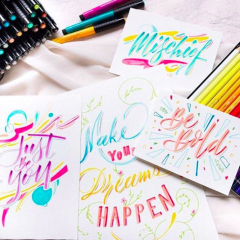 Brush Lettering Kit (coming soon)