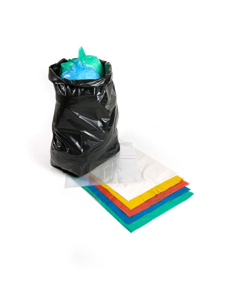 Clear Recycled Polythene Sacks