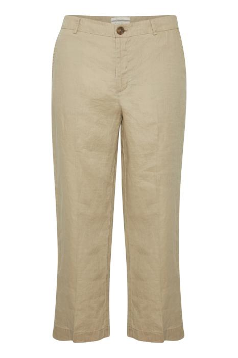 Beige Part Two Bukse BEGITTA CROPPED PANT