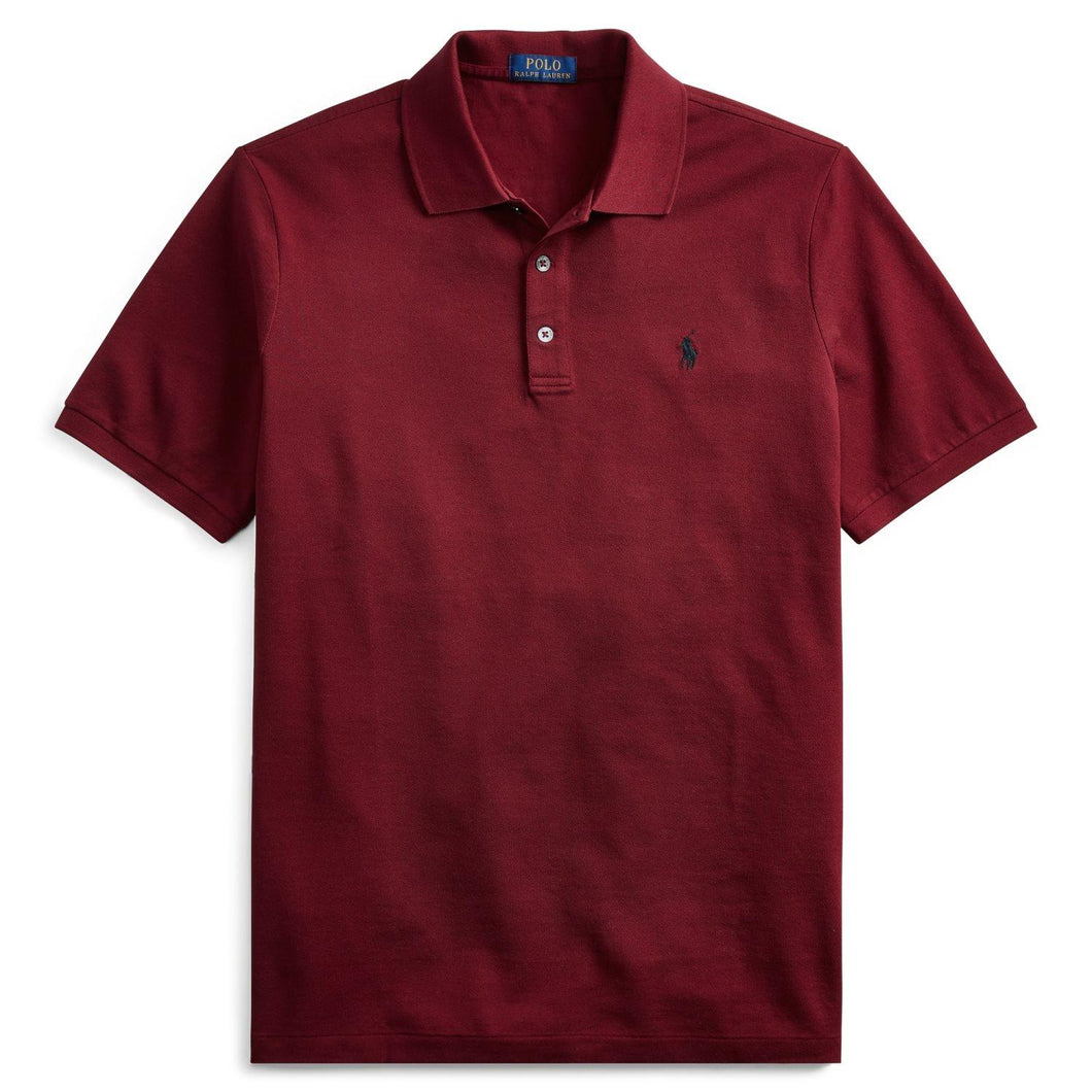 Burgunder Polo Ralph Lauren T-Shirt Short Sleeve