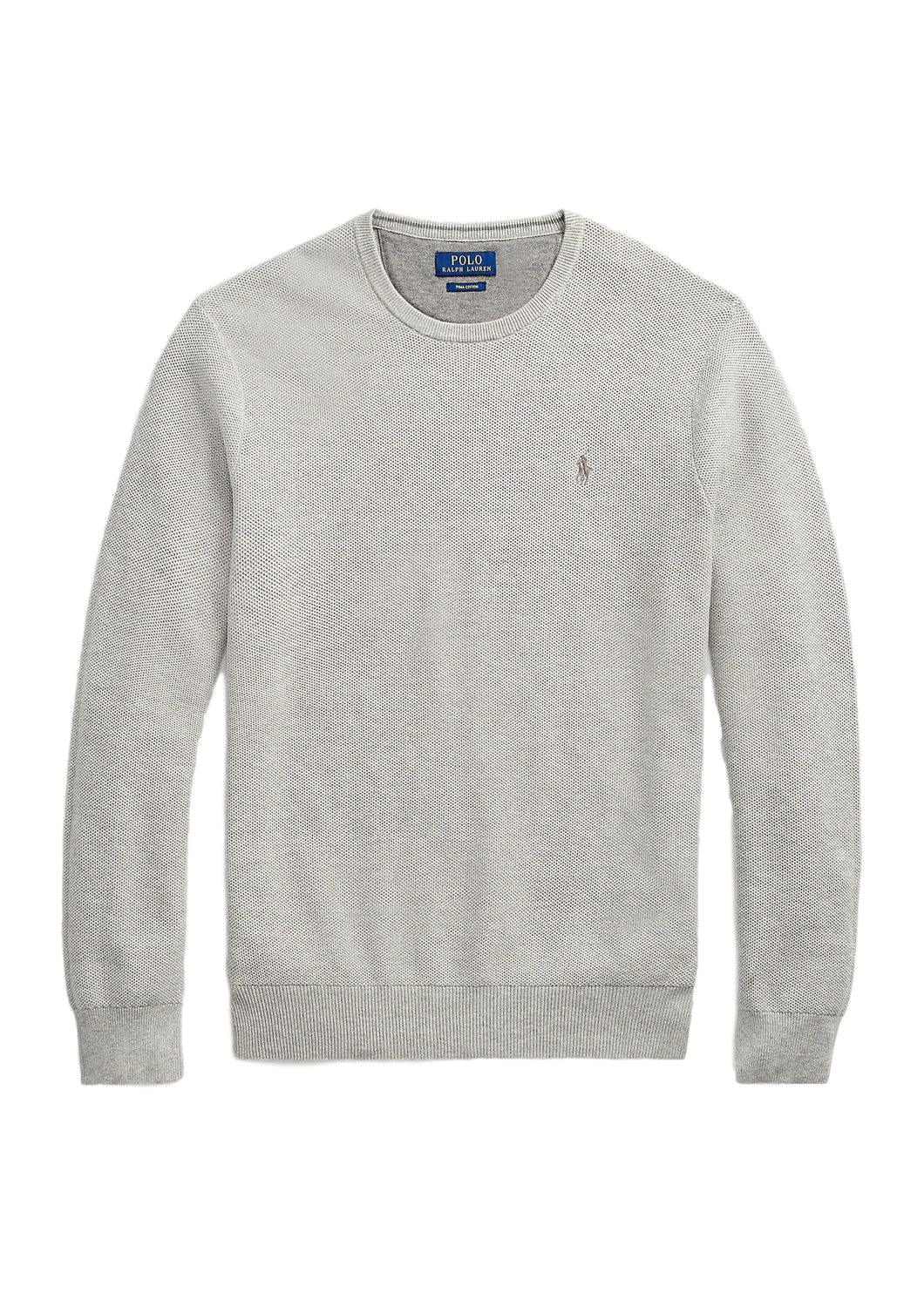 Lysegrå Polo Ralph Lauren Genser Long Sleeve