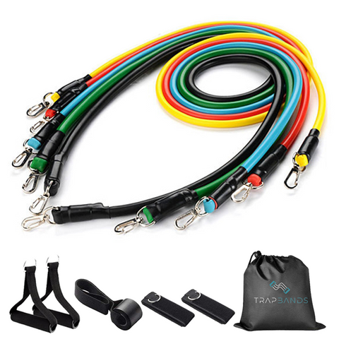 Trapbands™ 11PCS Set (100LBS Resistance - F)