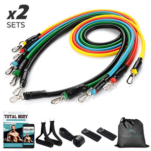 Trapbands™ 22PCS Set (200LBS Resistance) + Training Program