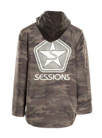 SESSIONS - ANGST JACKET SPLATTER PRINT