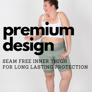 premium design seam free inner thigh for long lasting thigh protection