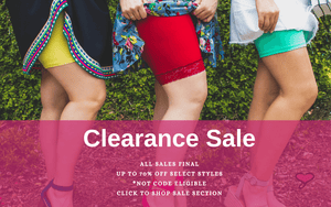 Clearance sale all sales final.  Up to 70% off.  *Not code eligible.  Click to shop sale.