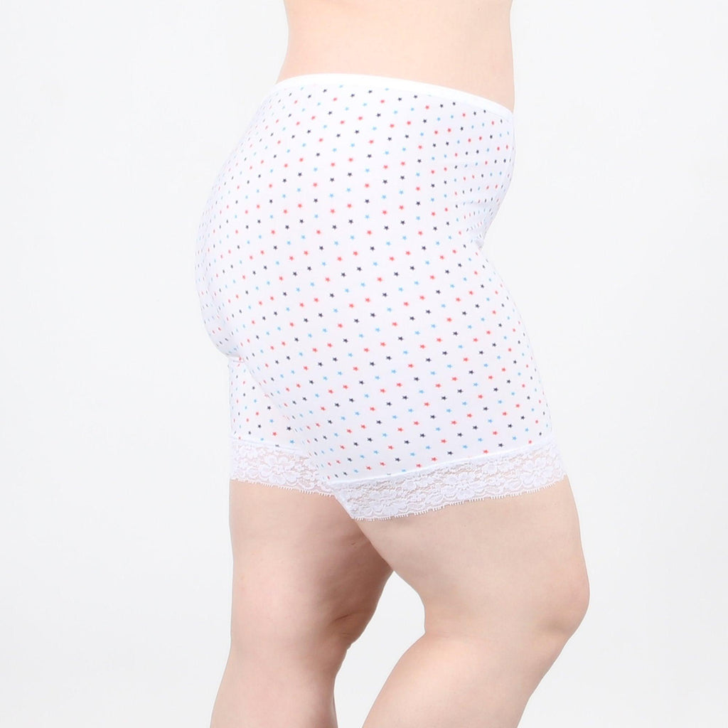 "Fusion Shortlette Anti Chafing Slipshort - 7"" Stars - Undersummers by CarrieRae"