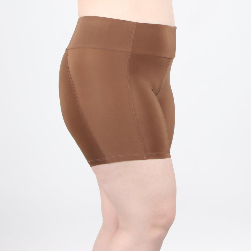 "Shortlette Boxer Brief - 5"" Brown - Undersummers by CarrieRae"
