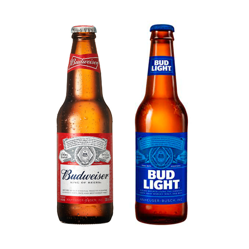 Bud or Bud Light, 6 pack