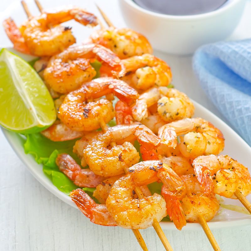 Shrimp Skewers, 4 pack (5 pcs each)