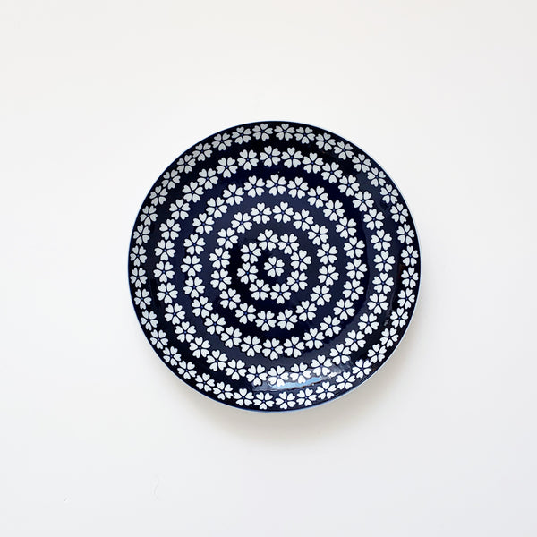 Porcelain Plate Large Komon