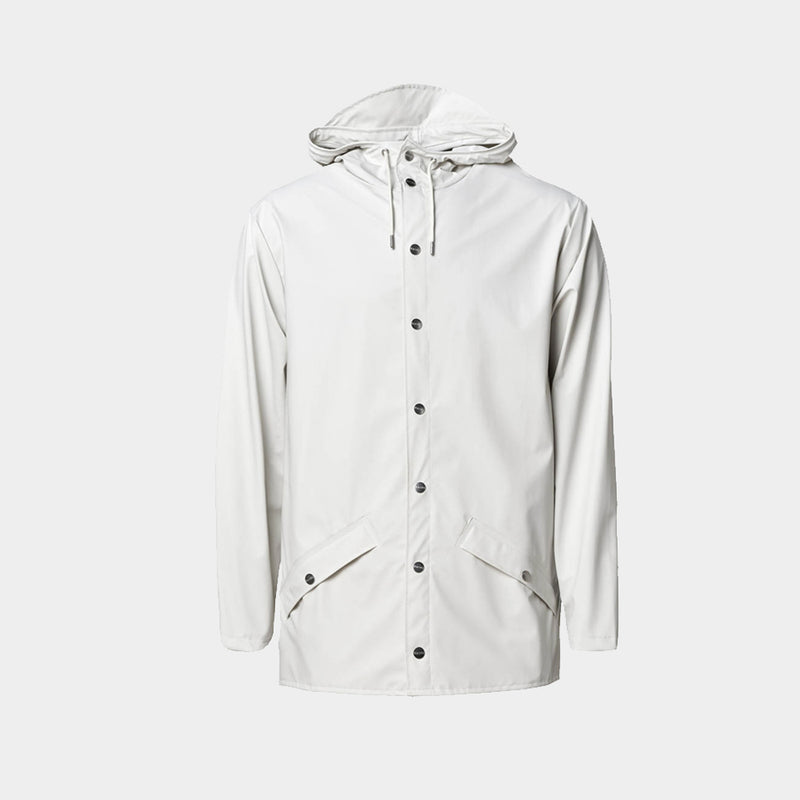 Rains Unisex Jacket Off White