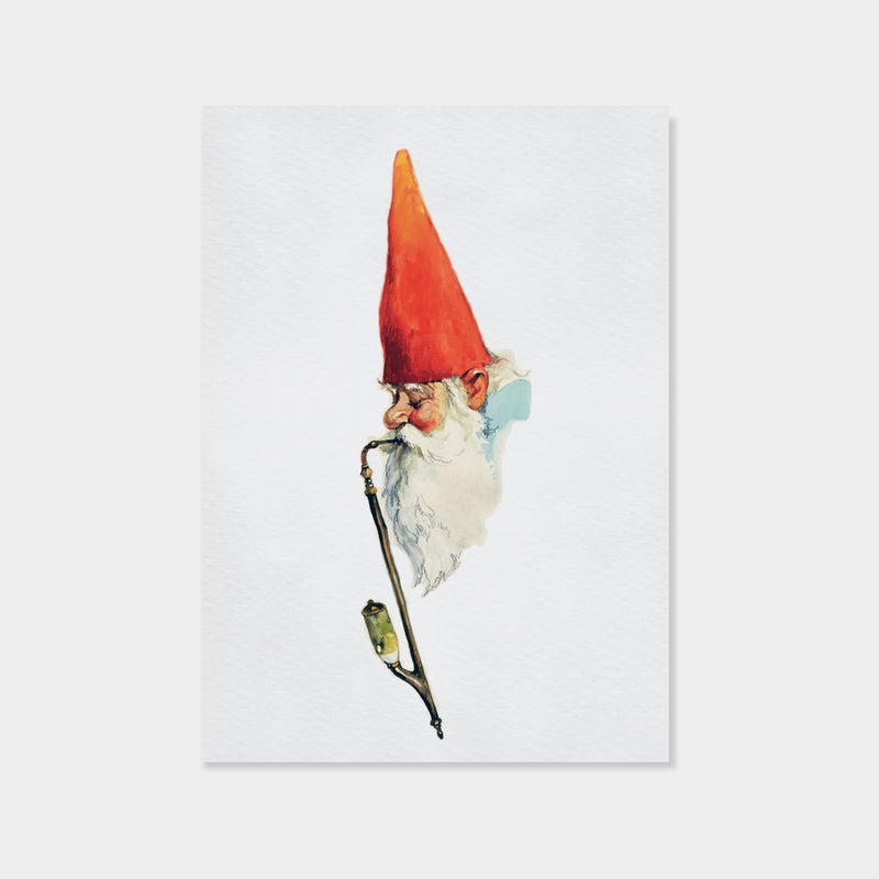 Gnome with Pipe | Rien Poortvliet
