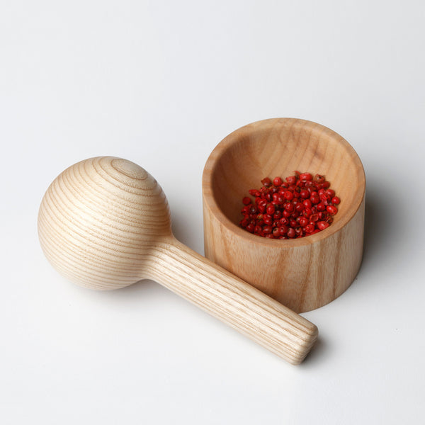 Pestle and Mortar Oak | Ash
