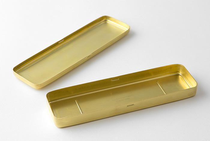 Travellers Brass Pen Case