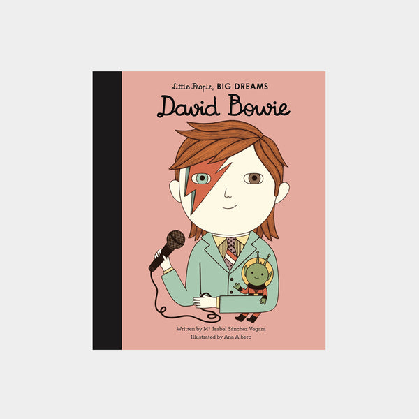 Little People Big Dreams David Bowie