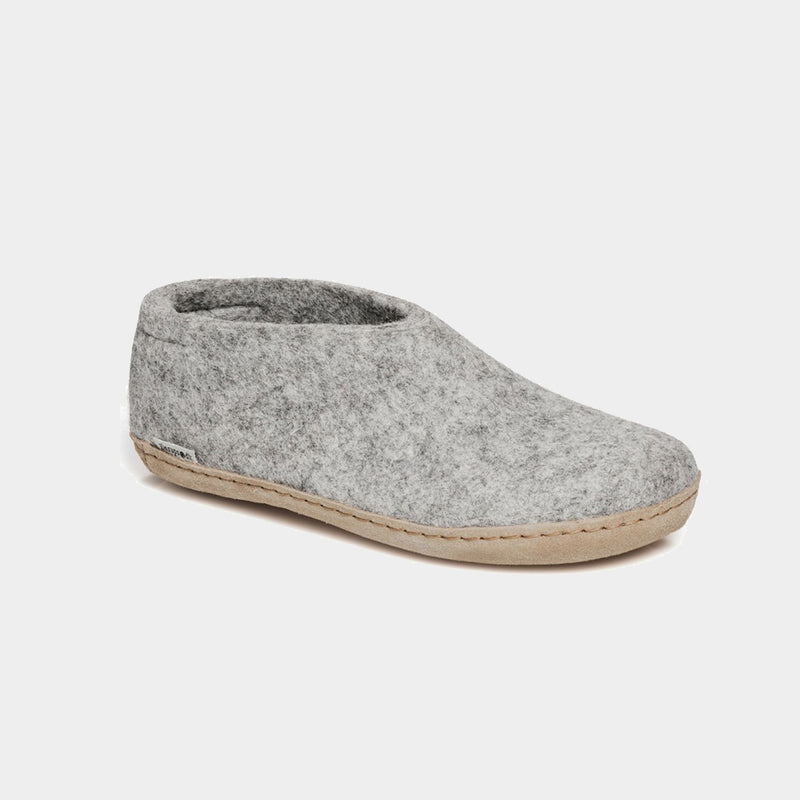 Grey Felt Slipper