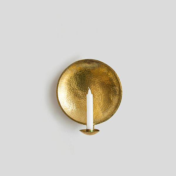 Brass Wall Candle Holder 29cm
