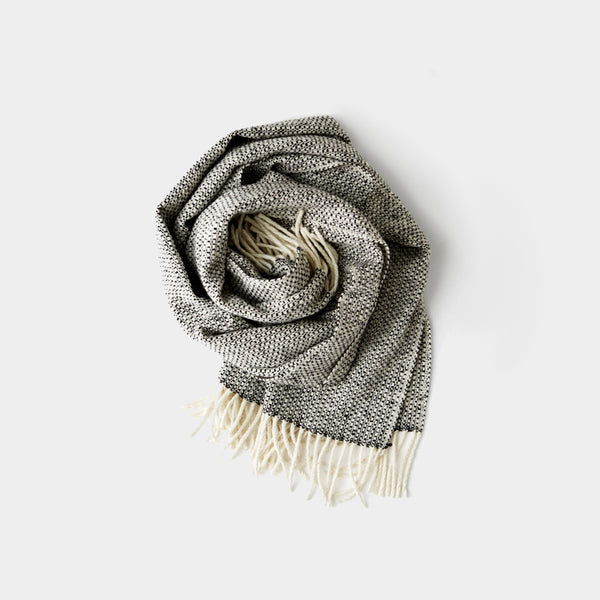 Scarf Monochrome Wide