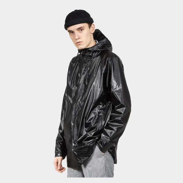 Rains Unisex Jacket Shiny Black