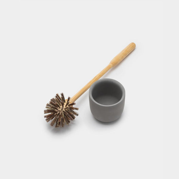 Concrete Toilet Brush & Holder