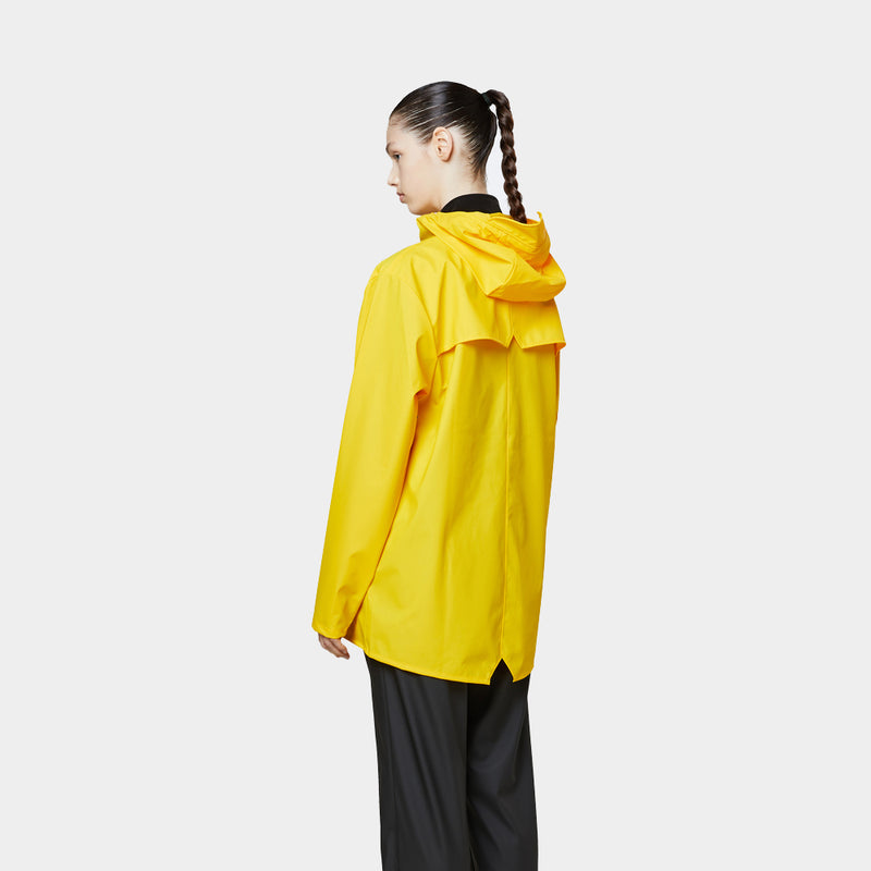Rains Unisex Jacket Yellow