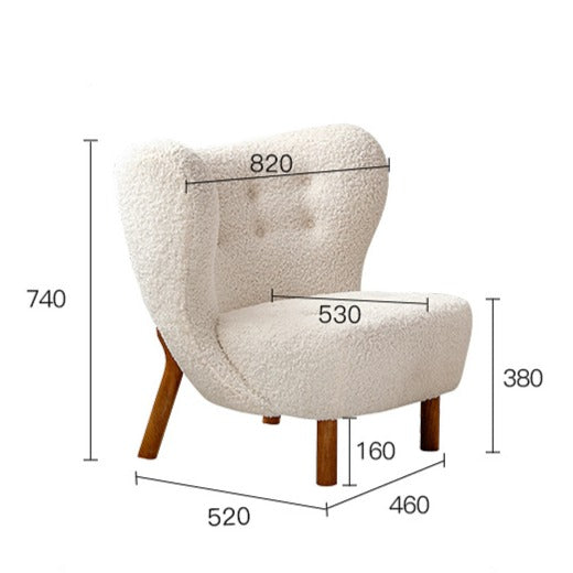 REPLICA LITTLE PETRA LOUNGE CHAIR