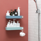 Punch-free bathroom wall-mounted rectangular storage rack - The Feelter