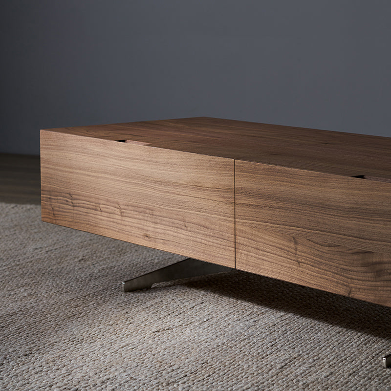 The Feelter | Designer Furniture Charles TV Unit Walnut