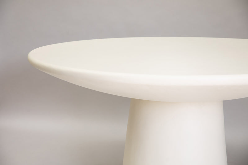 Replica ROLY-POLY DINING TABLE / CREAM | The Feelter