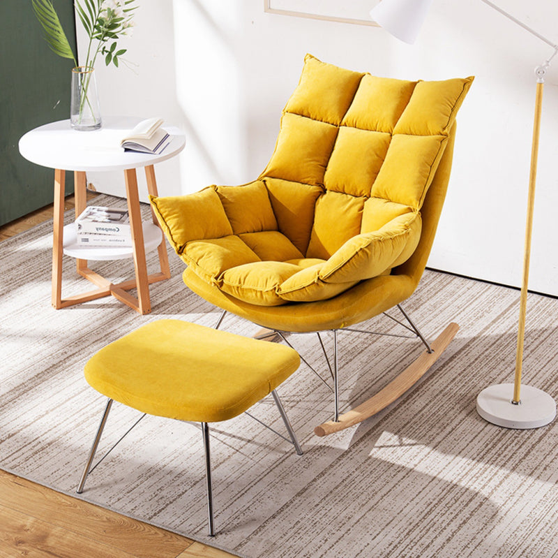 Fabric Rocking Chair | The Feelter