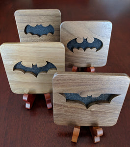 Batman Tim Burton/Michael Keaton Hand Cut Wooden Deskoration