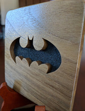 Load image into Gallery viewer, Batman Tim Burton/Michael Keaton Hand Cut Wooden Deskoration