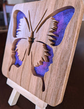 Load image into Gallery viewer, Butterfly Hand Cut Wooden Deskoration