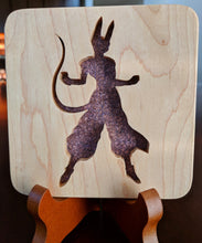 Load image into Gallery viewer, DragonBall Beerus Hand Cut Wooden Deskoration