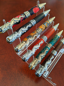 Dragon Hand Turned Twist Pens