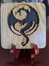 Load image into Gallery viewer, Elder Scrolls Oblivion Hand Cut Wooden Deskoration